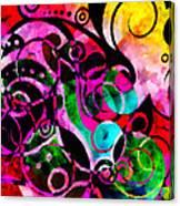 Summer Introspection Of An Extrovert Triptych Horizontal Canvas Print