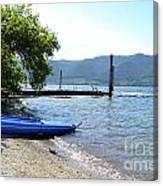 Summer Kayak Canvas Print