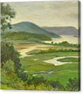 Summer Morning Hudson Highlands Canvas Print