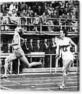 Summer Olympics, 1952 Canvas Print