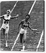 Summer Olympics, 1960 Canvas Print