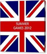 Summer Olympics In U.k. Canvas Print