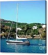 Summer Sailing Canvas Print