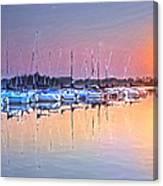 Summer Sails Reflections Canvas Print