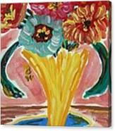 Summer Season 2012 Blooms Canvas Print