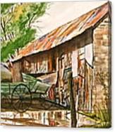 Summer Shower Canvas Print