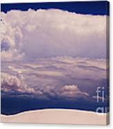 Summer Storms Over The Mountains 2 Canvas Print