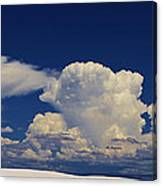Summer Storms Over The Mountains 3 Canvas Print