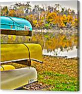 Summer's Over Canvas Print
