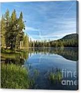 Summit Lake Shores Canvas Print