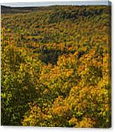 Summit Peak Autumn 10 Canvas Print