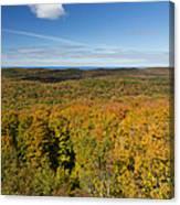 Summit Peak Autumn 11 Canvas Print