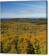 Summit Peak Autumn 12 Canvas Print