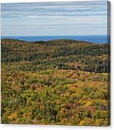 Summit Peak Autumn 13 Canvas Print
