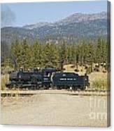 Sumpter Valley Railroad Canvas Print