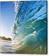 Sun And Wave Canvas Print