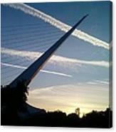 Sun Dial Bridge Canvas Print