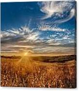 Sun Enchanted Evening I Canvas Print