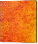 Sun Energy Canvas Print
