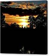 Sun Flash Canvas Print
