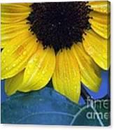 Sun Flower Canvas Print