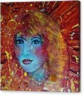 Sun Goddess Canvas Print