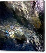 Sun On Water Canvas Print