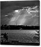 Sun Over Brasilia Canvas Print
