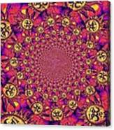 Sun Pattern Canvas Print