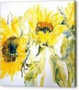 Sun Sisters Canvas Print
