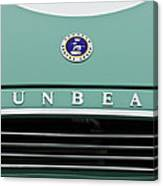 Sunbeam Rootes Group Vintage Car Canvas Print