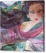 Sunday Makeover Canvas Print
