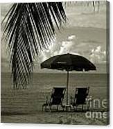 Sunday Morning In Key West Canvas Print