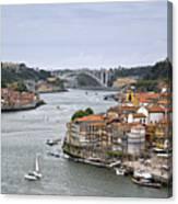 Sunday Morning In Porto | Portugal Canvas Print