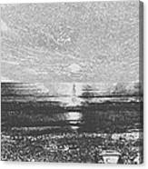 Sundown At Moonlight Beach 1 Canvas Print