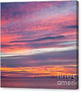 Sundown In Dunedin Canvas Print