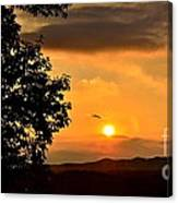 Sundown In Ellijay Canvas Print