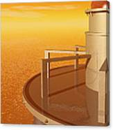 Sundustrial Canvas Print