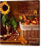 Sunflower - Still Life Canvas Print