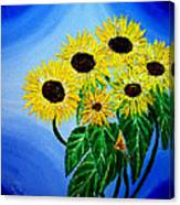 Sunflowers 1 Canvas Print