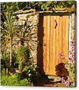 Sunlit Doorway Canvas Print