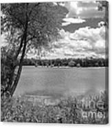 Sunny Day At The Lake Canvas Print