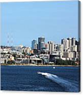 Sunny Seattle Canvas Print