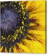 Sunny Yellow Canvas Print