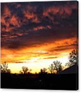 Sunrise 01 05 12 Canvas Print