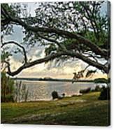 Sunrise Across The Lagoon Canvas Print