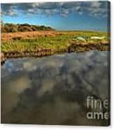 Sunrise At Brooks Island Refuge Canvas Print