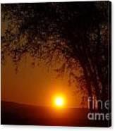 Sunrise At Maryhille  Canvas Print