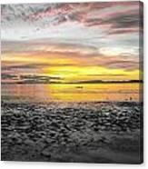Sunrise At Sea 2 Canvas Print