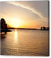 Sunrise At St Michaels Canvas Print